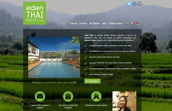 wordpress eden thai
