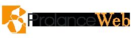 logo noir ProlanceWeb webmaster Création de site wordpress Lille